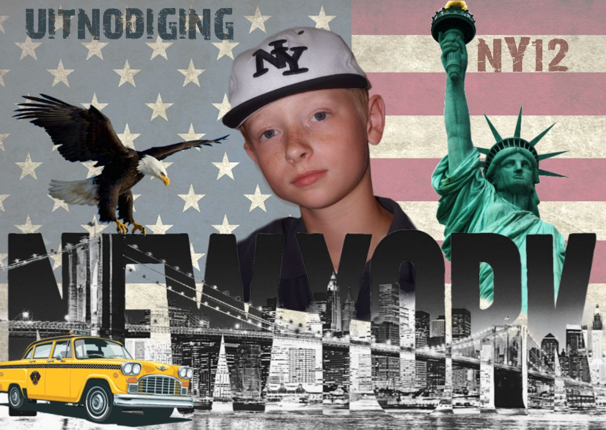 Lucas 12 Thema Nieuw York