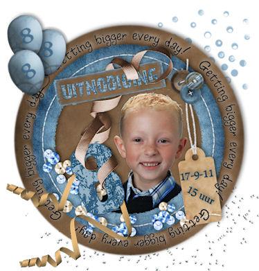 Lucas 8 jaar