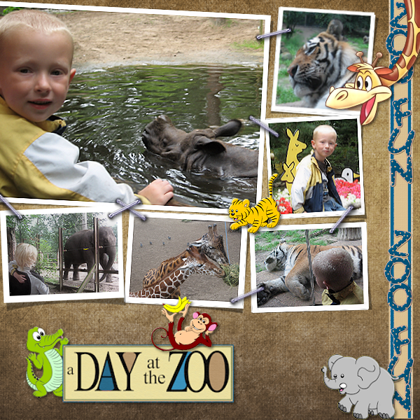 A day at the Zoo (Template 19-11-080