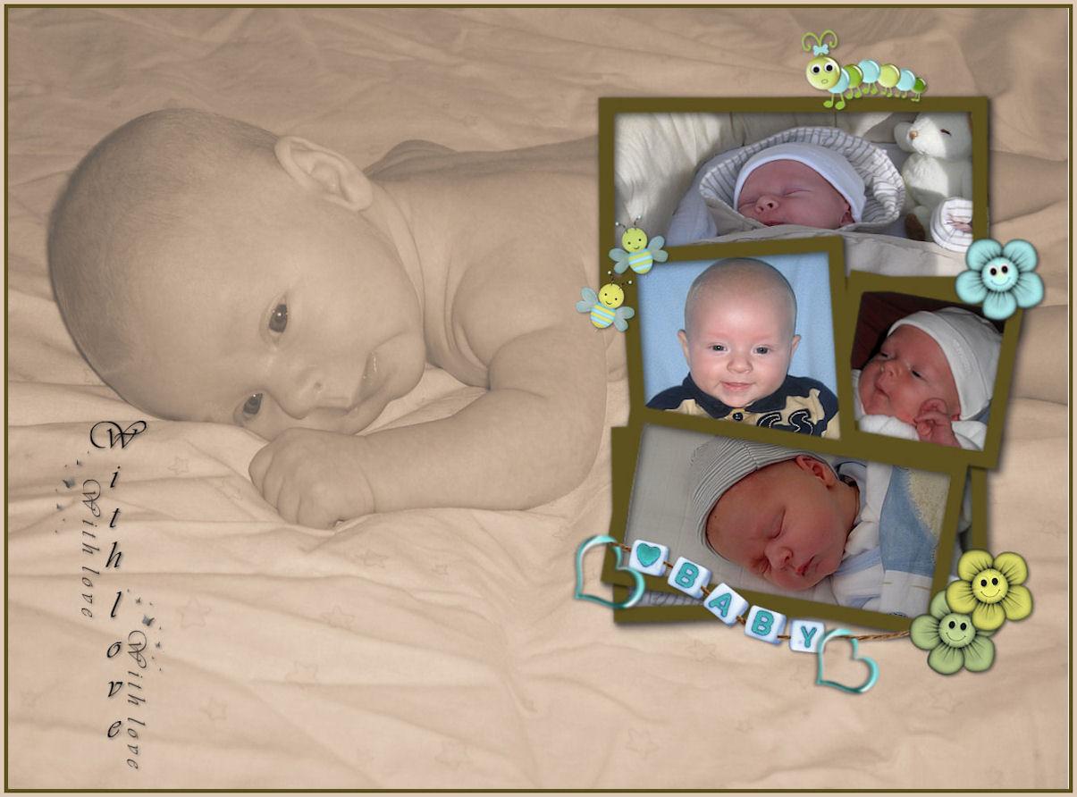 Lijst Lucas baby