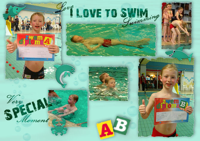 Lucas zwemdiploma