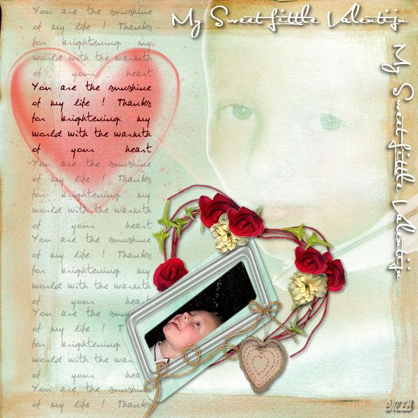 My sweet little valentijn (les 9-2-09)