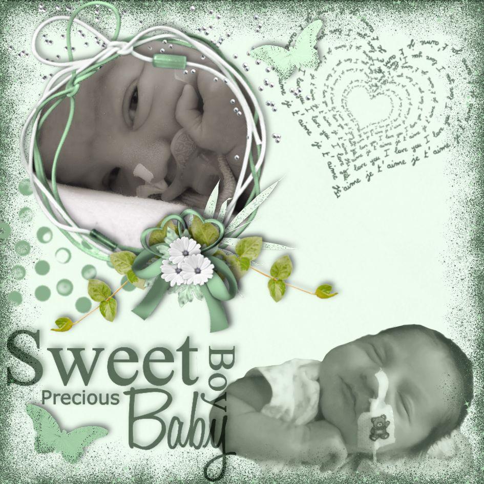 Sweet Baby Boy Lorenzo mint