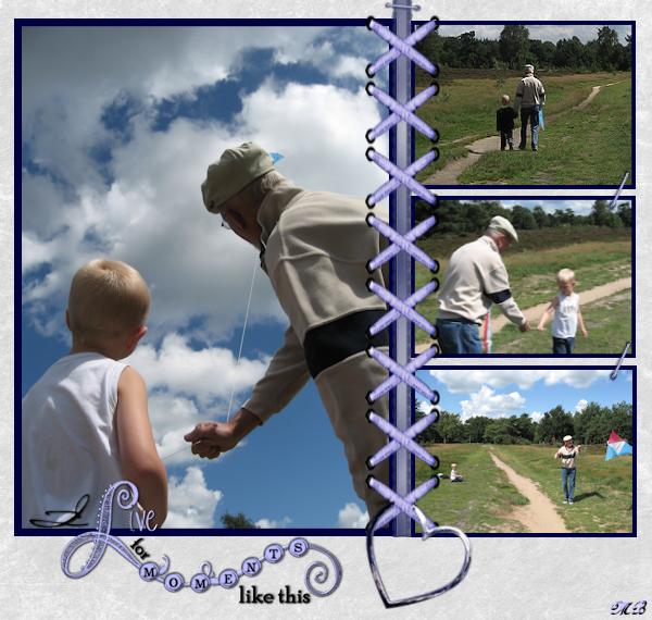 Vliegeren met opa