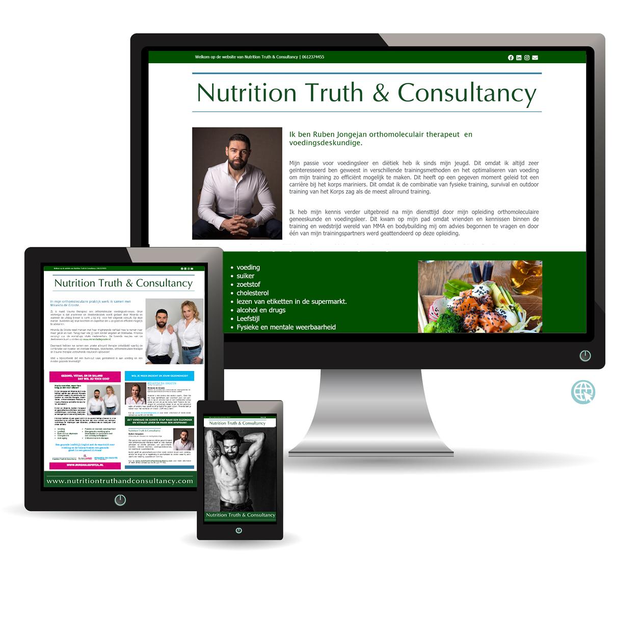 LucKim Webdesign www.nutritiontruthandconsultancy.com