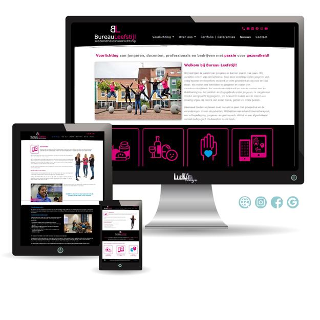 LucKim Webdesign BureauLeefstijl