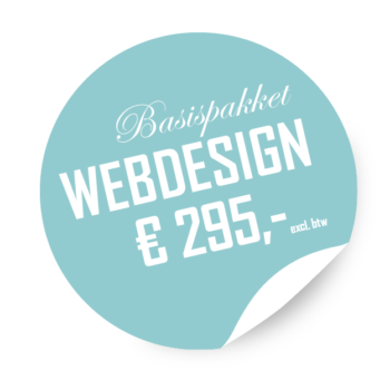 LK Sticker basispakket webdesign